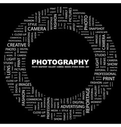 PHOTOGRAPHY vector