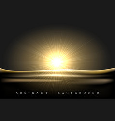 realistic shining star abstract background vector image
