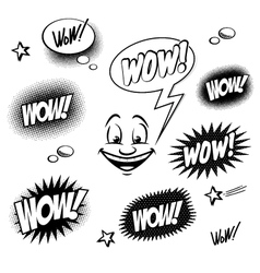 wow vector image