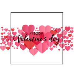 Happy valentines day romantic perfect for design vector