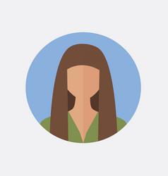 avatar woman design vector image