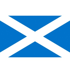 flag of scotland vector image