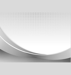abstract gray waves or curved professional vector image