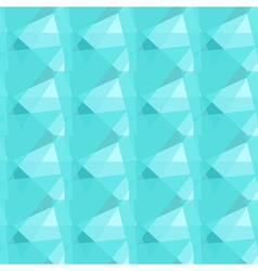 Abstract polygonal blue triangular seamless vector image