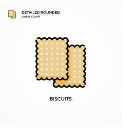 Biscuits icon modern vector