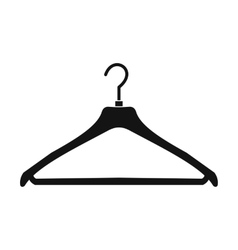 Coat hanger icon vector image