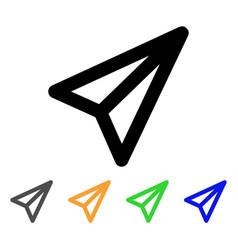 Freelance stroke icon vector