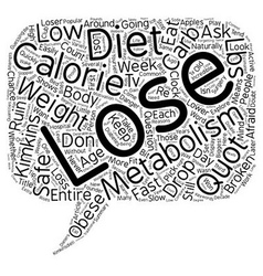 Is Your Metabolism Broken text background vector image