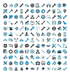 Options And Service Tools Icons vector