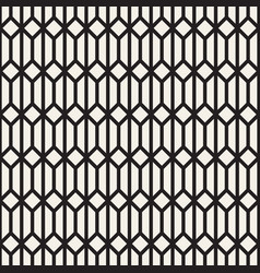 Seamless geometric pattern simple mono line vector