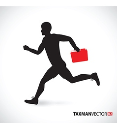 side runner folder vector image