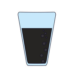 soda cup isolated vector image