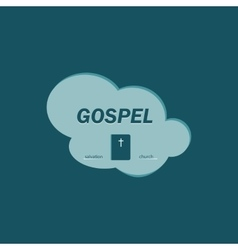Logo gospel vector image