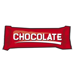 Package for chocolate and sweets vector image