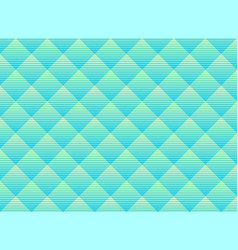 Abstract green and blue subtle lattice pattern vector