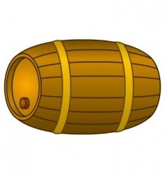 Barrel wood vector