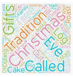 Christmas Article 8 text background wordcloud vector image