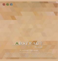 cover templatemosaic texturebrochure flyer vector image