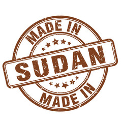 Made in sudan vector