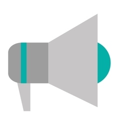 simple megaphone icon vector image