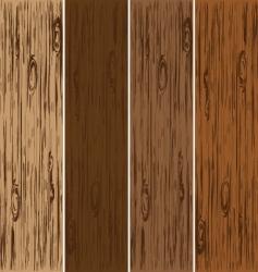 Wooden blank vector