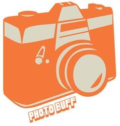 Photo buff vector