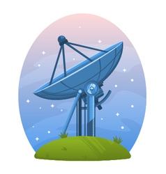 Radio telescope vector