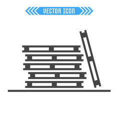 pallets icon sign symbol vector image