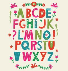 Abc alphabet vector