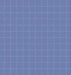 Abstract concentric line square mosaic background vector