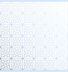 Abstract geometric pattern with lines rhombuses vector