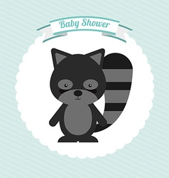 Baby shower design vector