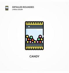 Candy icon modern vector