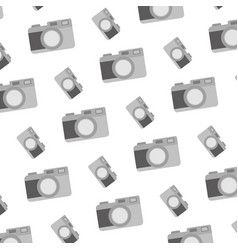 digital camera electronic object background vector image