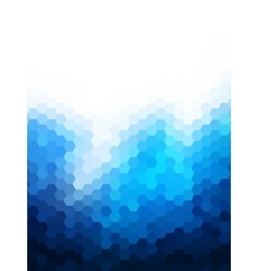 Polygonal Background for webdesign - Blue colors vector