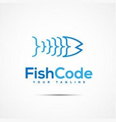 software template logo vector image