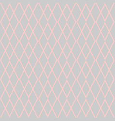 tile pattern with grey and pink background vector image