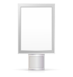 blank City Light vector image