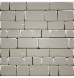 Stone Block Wall vector image vector image