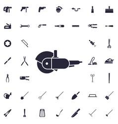 Grinder icon vector