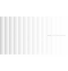 minimalist white abstract background 3d top view vector image