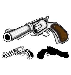 Revolvers set vector