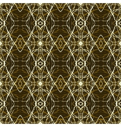 Rich and elegant pattern with gold silver lines vector image
