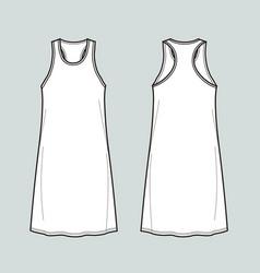 sport dress vector image