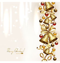 festive bells vector image