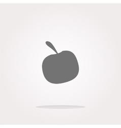 Apple Icon Apple Icon Object Apple Icon vector image