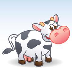 Cartoon Cow vector image vector image