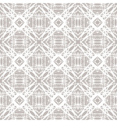 Pattern with grey-silver geometrical shapes vector image vector image