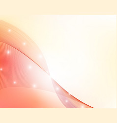 abstract red wavy background vector image