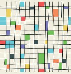 Creative cube seamless pattern vector